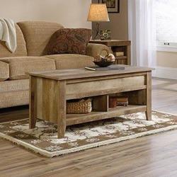 Sauder Dakota Pass Lift-Top Coffee Table Coa 420011 Craftsman Oak Finish