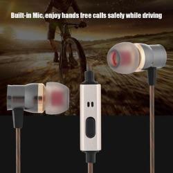 Universal 3.5mm Metal In-Ear Wired Headphone Deep Bass Headset Earphone with Microphone 3.5mm headphone 3.5mm headphone