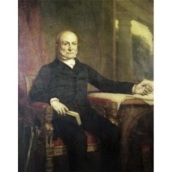 Posterazzi SAL900105511 John Quincy Adams President 1825-1829 George Peter Alexander Healy 1813-1894 American Poster Print - 18 x 24 in. found on Bargain Bro Philippines from Newegg Canada for $54.86
