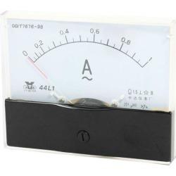 Unique Bargains Analog Panel Ammeter AC 0 - 1A Measuring Range 1.5 Accuracy 44L1