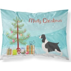 English Springer Spaniel Christmas Fabric Standard Pillowcase BB8435PILLOWCASE