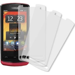 Nokia 700 Screen Protector Cover, MPERO Nokia 700 3 Pack of Screen Protectors [MPERO Packaging]