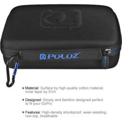 PULUZ Waterproof Carrying and Travel Case Portable Case for GoPro HERO6 /5 /4 Session /4 /3+ /3 /2 /1, Puluz U6000 and other Sport Cameras