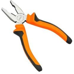 axGear Linesman Pliers 6in Heavy Duty Pliers w/ Side Cutting Edges Combination Pliers