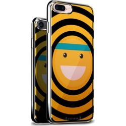 LUXENDARY EMOJI WITH HEAD BAND DESIGN CHROME SERIES CASE FOR IPHONE 6/6S PLUS