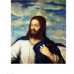 Posterazzi BALXIR198445LARGE The Saviour Poster Print by Titian - 24 x 36 in. - Large