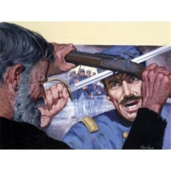 Posterazzi SAL902138114 Painting of Two Men Fighting Poster Print - 18 x 24 in. found on Bargain Bro Philippines from Newegg Canada for $53.76
