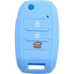Car Keyless Entry Remote Key Case Holder Shell Cover 3/4 Button Sky Blue for Kia found on Bargain Bro India from Newegg Canada for $7.27