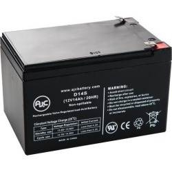 Viza Motors Viza Motor Scooter 12V 14Ah Scooter Battery - This is an AJC Brand Replacement