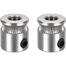 MK7 Drive Gear Direct Extruder Drive 5mm Bore for Reprap Extruder 2pcs