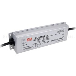 MEAN WELL ELG-150-24A 24V 6.25A 150W IP65 io/vo adjustable w/pot Single Output LED Driver Power Supply A type