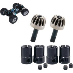 4PCS 02016 Joint Cup & Metal Drive Gear for HSP Redcat 1:10 Car Buggy Truck