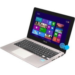 ASUS Laptop VivoBook X202E-DH31T Intel Core i3 3rd Gen 3217U (1.80 GHz) 4 GB Memory 500 GB HDD Intel HD Graphics 4000 11.6' Touchscreen Windows 8.