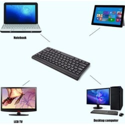 Universal Mini Portable 2.4G Wireless Keyboard Ultra Thin Energy Saving Battery Powered for Tablet PC Computer Accessory