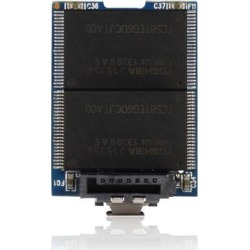 Goldendisk SATA DOM SSD 16GB NAND MLC Dual Channel Horizontal 7PIN SATA II for Embedded mother board, industrial Control PCs