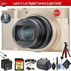 Leica C-Lux Digital Camera (Light Gold) - Pro Bundle