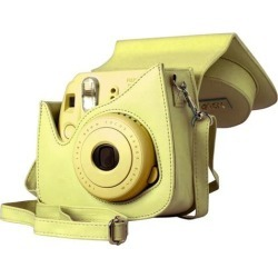 Fuji Film USA 600015445 Groovy Case For Instax Mini 8 Camera - Yellow