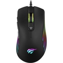 Havit MS1002 RGB Backlit USB Gaming Mouse Black