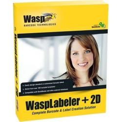 Wasp 633808105266 WaspLabeler +2D Barcode Label Design Software