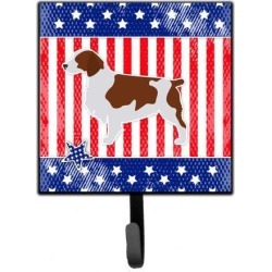 USA Patriotic Welsh Springer Spaniel Leash or Key Holder BB3300SH4