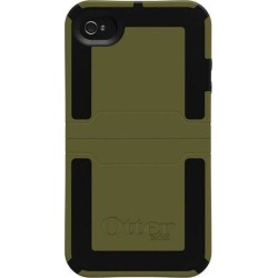 OtterBox APL7-I4UNI-C8-E4OTR A Reflex Series Case for iPhone 4 - 1 Pack - Retail Packaging (Green/Black) (Discontinued by Manufacturer)