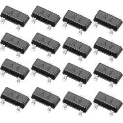 50pcs SMD Small Signal High-Speed Switching Recrifiers Diode 0.2A 70V 225mW SOT-23,Ifm=100mA