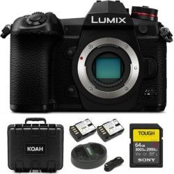 Panasonic Lumix G9 Mirrorless Micro Digital Camera Body and Accessory Kit