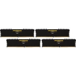 CORSAIR Vengeance LPX 16GB (4 x 4GB) 288-Pin DDR4 SDRAM DDR4 2133 (PC4 17000) Memory Kit Model CMK16GX4M4A2133C13