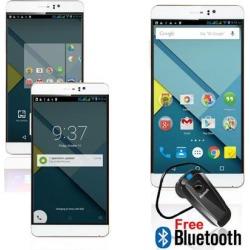New Unlocked! Indigi® 2016 M8 3G Smartphone 6' Android 5.1 WiFi Bluetooth dual sim - Free Bluetooth Headset