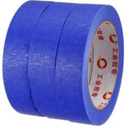 Masking Tape Painter's Tapes, 0.98 in X 98 Ft Light Blue 3 Roll