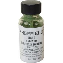 Sheffield, 1671, 1 OZ Bottle, Light Avocado, Porcelain Touch Up Paint, For Porcelain Surfaces