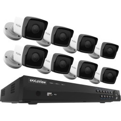 LaView 1080P PoE IP Security Camera System, 8 HD 2MP Cameras with Matrix IR Day / Night view, 8 Channel NVR (NO HDD Included, Sold Separately) found on Bargain Bro India from Newegg for $610.99