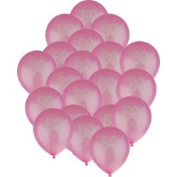 20pcs Birthday Balloon Party Anniversary Decoration Age Number 80th Pink
