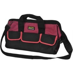 Unique Bargains Wearproof Plastic Pad Bottom Design Electrician Tool Hand Bag Black Red found on Bargain Bro India from Newegg Canada for $30.00