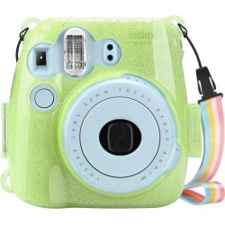 For Fujifilm Instax Mini 8 Mini 8+ Mini 9 Camera Case Crystal Hard PVC Cover - G