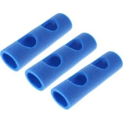 3pcs Swimming Pool Accessory Training Aids Holed Woggle Noodle Connector