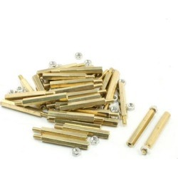 30Pcs M3x6mm Male to Female Thread Hex Standoff Spacer 30mm Body Length