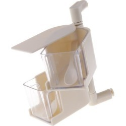 Rotatable Hanging Spice Rack Set Wall-mounted Revolving Spice Rack 2-Beige
