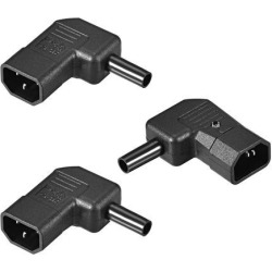 AC110-250V 10A Male IEC320 C14 Power Socket Adapter Receptacle Connector Right Angle 3 Pcs found on Bargain Bro India from Newegg Canada for $14.31