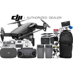 DJI Mavic Air Drone Quadcopter (Onyx Black) 2-Battery Ultimate Bundle