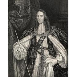 Posterazzi DPI1858546 Edward Montagu 2Nd. Earl of Manchester Viscount Mandeville 1602-1671 Poster Print, 13 x 17