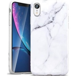 ESR iPhone XR Case, ESR Marble Slim Soft Case Shell Skin [Anti-Scratch] Ultra Thin [Slim Fit] Cover Compatible with 6.1 inch iPhone XR (Released in.