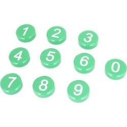 Unique Bargains 10 Pcs Arabic Number Pattern Fridge Refrigerator Magnets Decor found on Bargain Bro India from Newegg Canada for $9.62