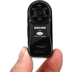 ESCAM Thumb QM10 Wifi Mini IP Camera HD P2P indoor Surveillance Night Vision Security wireless CCTV Camera Support TF SD Card