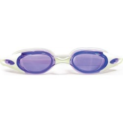 7' Purple and White Advanced Pro Goggles Swimming Pool Accessory for Adults