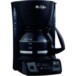 Mr. Coffee Simple Brew 5-Cup Programmable Coffee Maker - Black