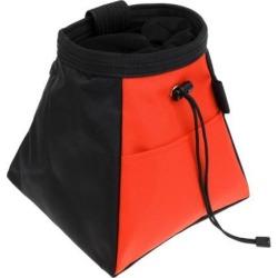 Rock Climbing Bouldering Weightlifting Chalk Storage Bag Bucket Pouch orange