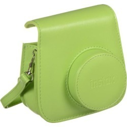 FujiFilm 600018146 Instax Mini 9 Groovy Case, Lime Green