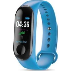 M3 Smartband Fitness Tracker Smart Bracelet Blood Pressure Heart Rate Monitor Waterproof Smart Band blue