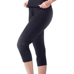 Neoprene Weight Loss Cropped Pants Thermo Shaper Slimming Pants Shapewear L